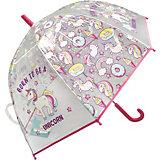 """Зонт детский прозрачный Mary Poppins """"Единорог"""", 48 см, полуавтомат"""