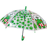Зонт прозрачный «ЛЯГУШКА»