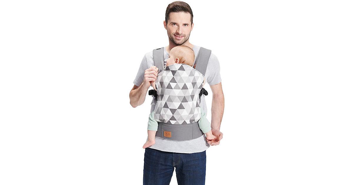Babytrage NINO, grey grau