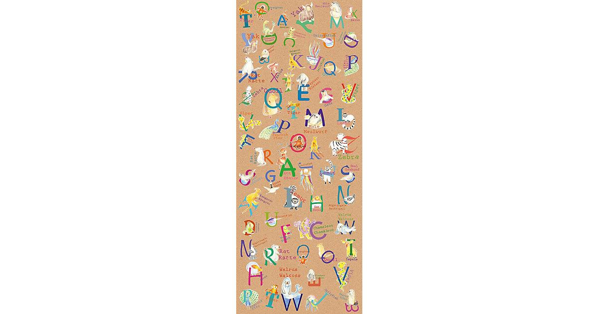 Vlies Fototapete Animals A-Z, Panel, 100 x 250 cm braun