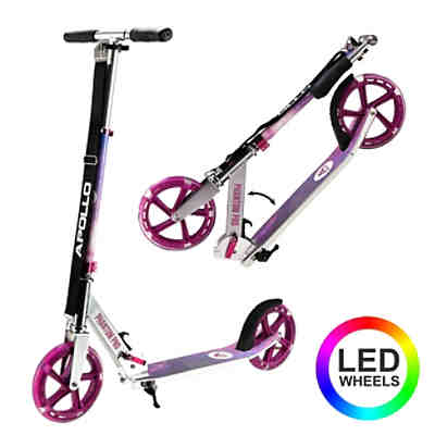 Apollo City Scooter - klapp- und höhenverstellbar Phantom Pro LED