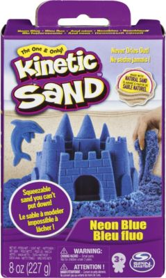 Кинетический песок набор для лепки 240 г., голубой