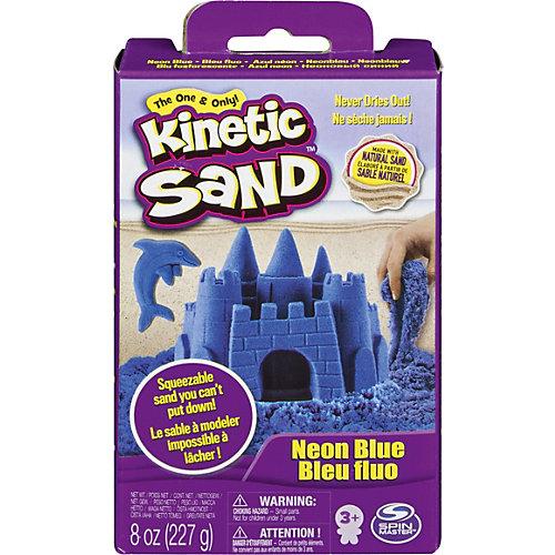 Кинетический песок набор для лепки 240 г Голубой от Spin Master