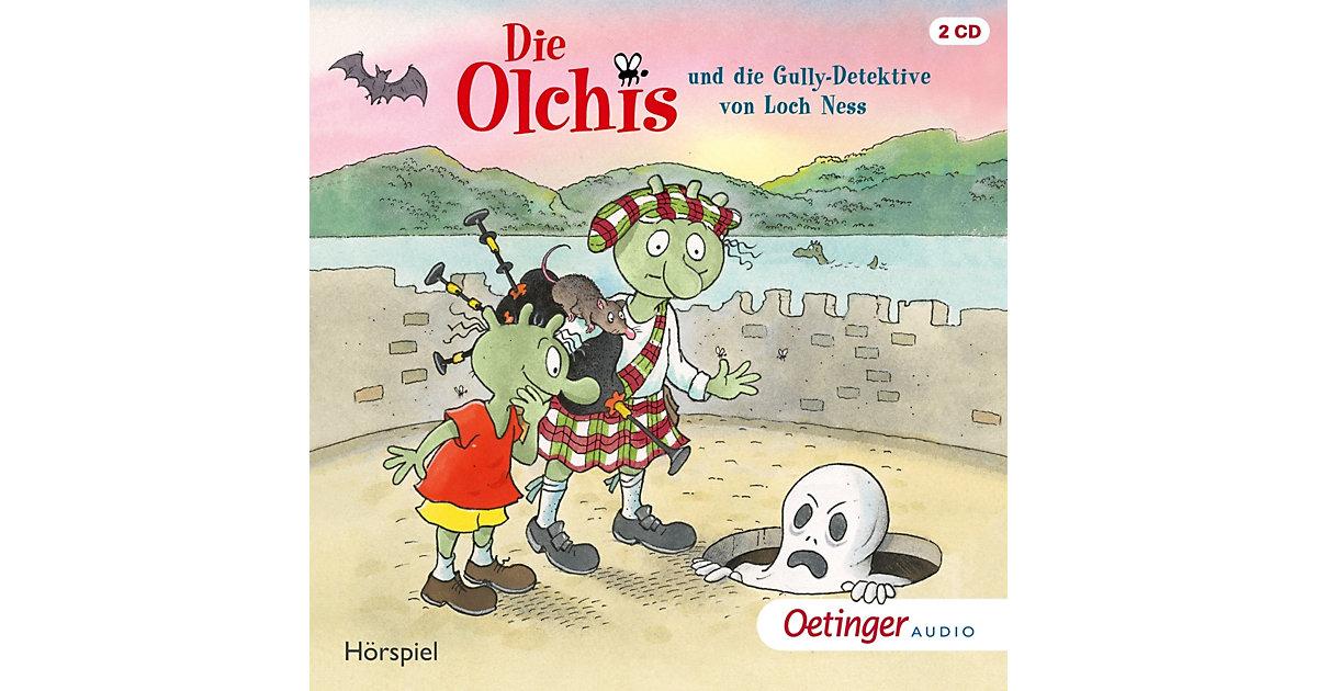 CD Die Olchis und die Gully-Detektive von Loch Ness (2 CDs) Hörbuch