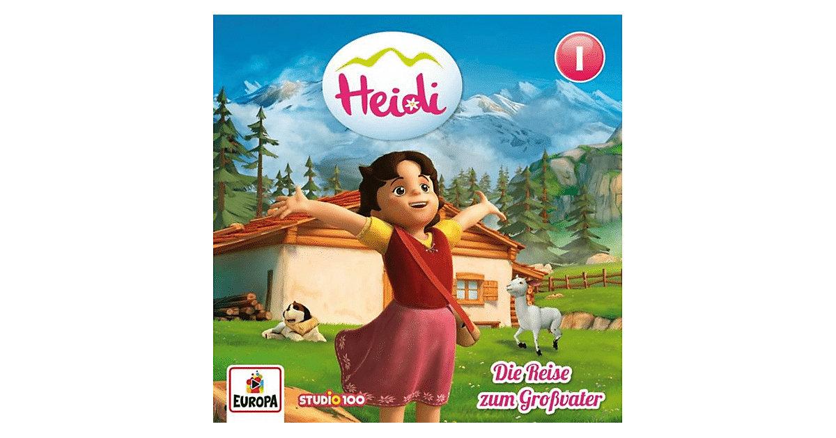 CD Heidi 1 - Die Reise zum Großvater Hörbuch