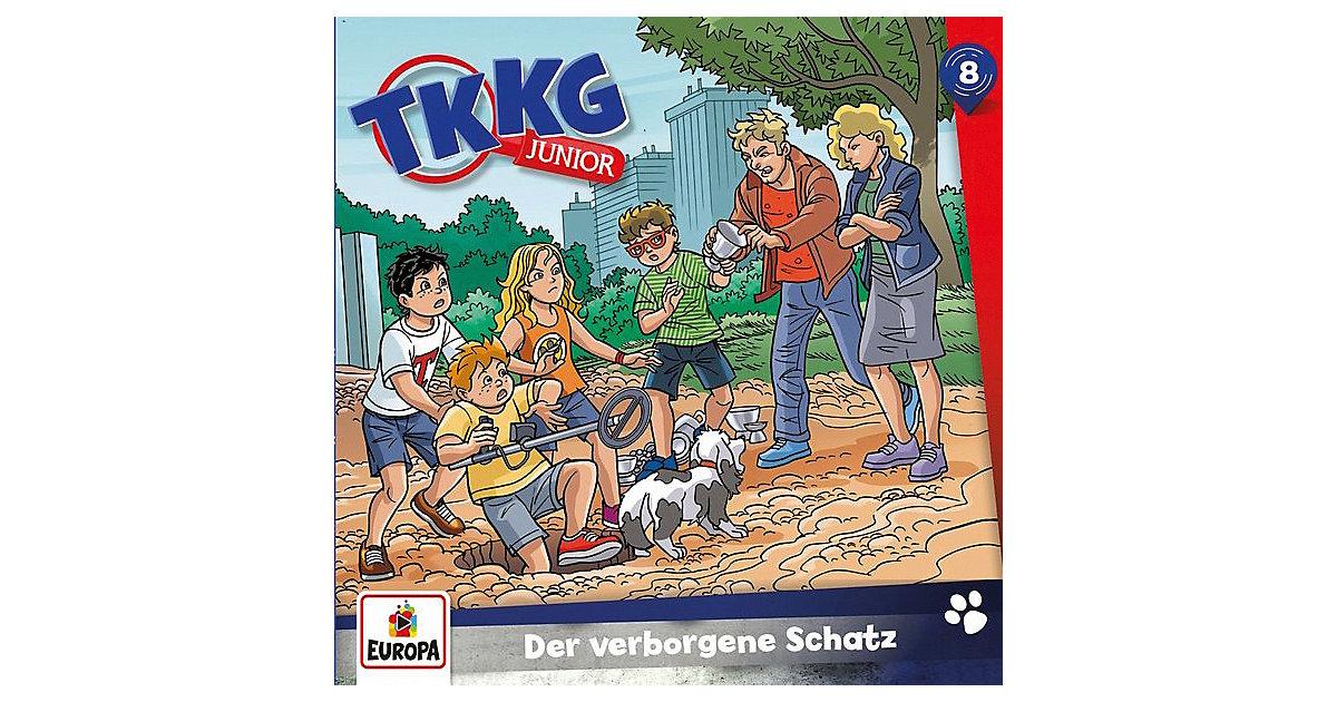 CD TKKG Junior 08 - Der verborgene Schatz Hörbuch