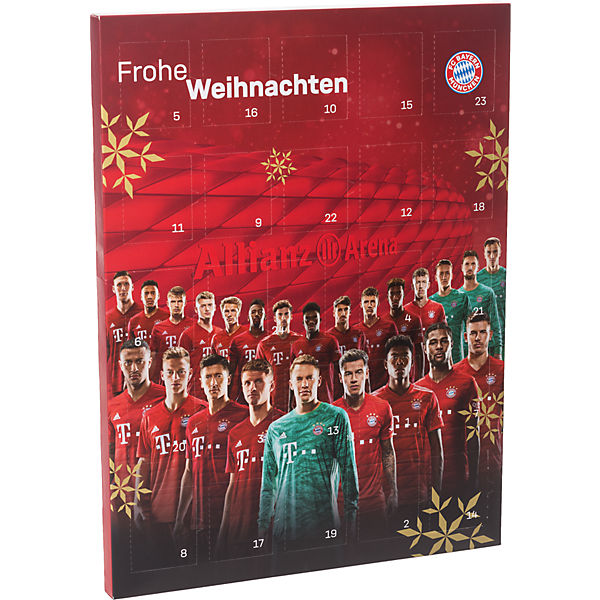 Fc Bayern Munchen Schoko Adventskalender 2019 Fc Bayern Munchen