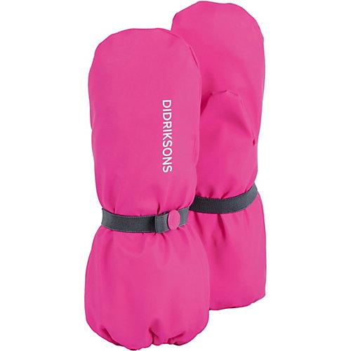 Варежки Didriksons Glove - розовый от DIDRIKSONS1913