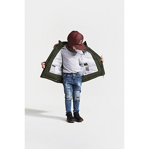 Утеплённая куртка Didriksons Hajen - зеленый от DIDRIKSON