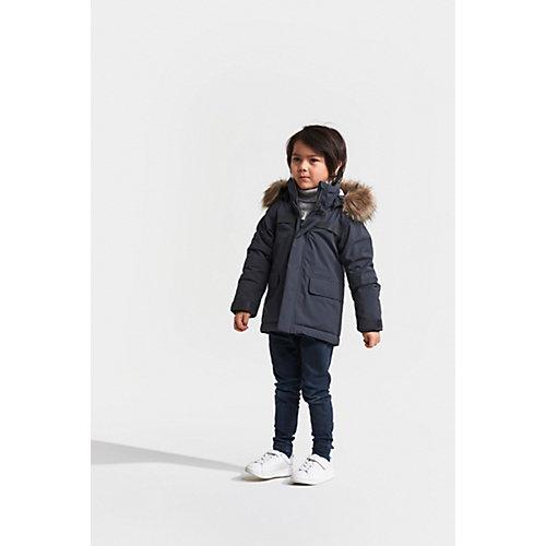 Утеплённая куртка Didriksons Hajen - серый от DIDRIKSON