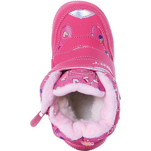 """Утепленные ботинки """"Счастливый ребенок"""" - розовый от Счастливый ребенок"""