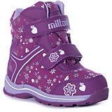 Утепленные ботинки Milton