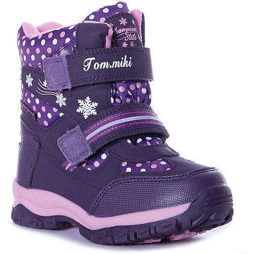 Утепленные сапоги Tom&Miki - фиолетовый от Tom&Miki