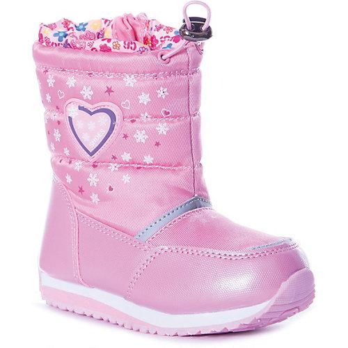 Дутики Tom&Miki - блекло-розовый от Tom&Miki