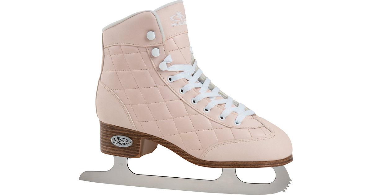 Schlittschuhe Eiskunstlauf Julia, Gr. 36 rosa/weiß