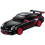 Машинка Rastar Porsche gt3 rs, черная