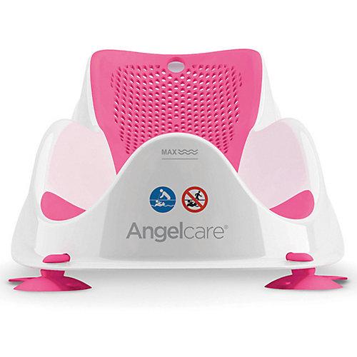 Горка для купания AngelCare Bath Support Mini, розовая