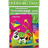 """Объемная аппликация HOBBY TIME """"Собачка"""" из цветной бумаги"""