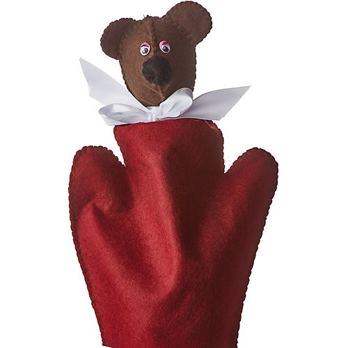 "Набор для творчества HOBBY TIME ""Шьем из фетра. Кукольный театр своими руками. Медвежонок"" от hobby time"