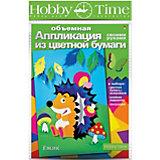"""Объемная аппликация HOBBY TIME """"Ежик"""" из цветной бумаги"""