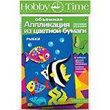 """Объемная аппликация HOBBY TIME """"Рыбки"""" из цветной бумаги"""