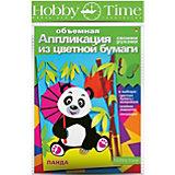 "Объемная аппликация HOBBY TIME ""Панда"" из цветной бумаги"