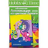 """Объемная аппликация HOBBY TIME """"Слоники"""" из цветной бумаги"""