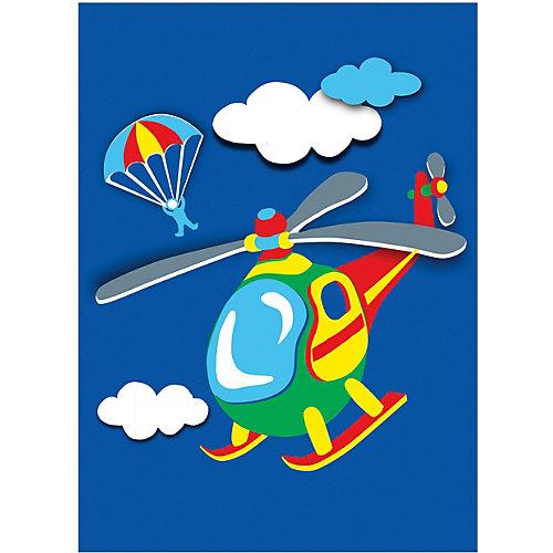 "Объемная аппликация HOBBY TIME ""Вертолет"" из цветной бумаги от hobby time"