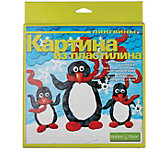 "Набор для творчества HOBBY TIME ""Картина из пластилина. Пингвины"" №5"