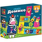 """Настольная игра Vladi toys """"Crazy Домино"""""""