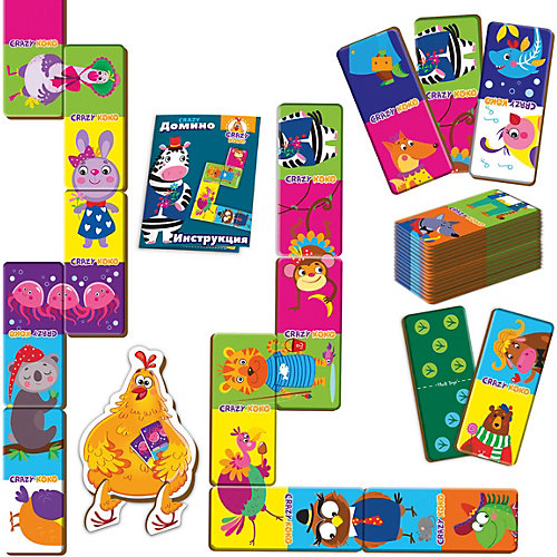 """Настольная игра Vladi toys """"Crazy Домино"""" от Vladi Toys"""