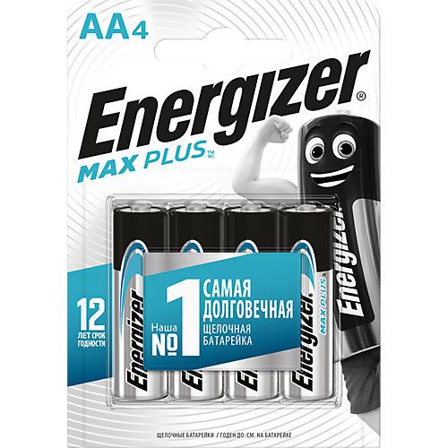 "Батарейки алкалиновые Energizer ""Max Plus"", тип АА/LR6, 1,5 V, 4 шт от Energizer"