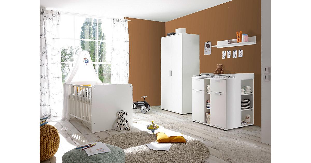Image of Babyzimmer Lotta 4-teilig Weiß weiß