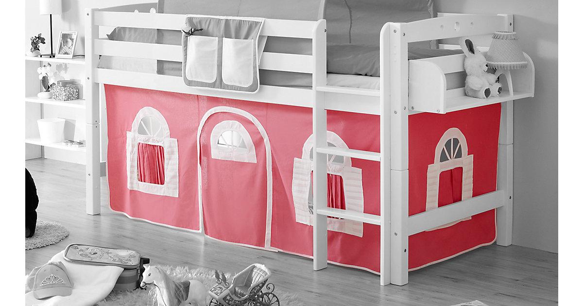 Landhaus Vorhangstoffe Hochbetten mehrfarbig  Kinder