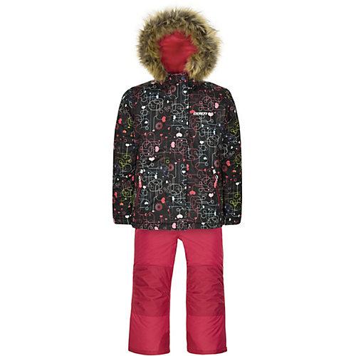 Комплект Gusti: куртка и полукомбинезон - черный от Gusti