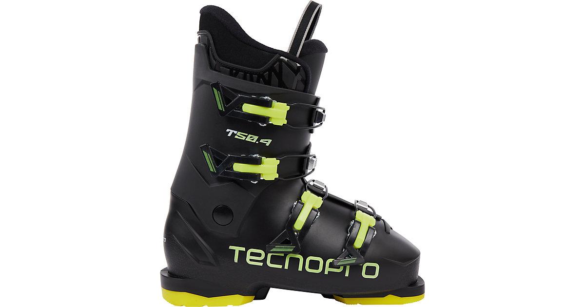 Skischuhe T50-4 schwarz/gelb Gr. 40,5