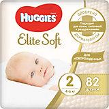 Подгузники Huggies Elite Soft 4-6 кг, 82 штуки