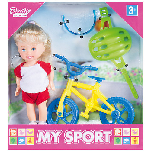 "Игровой набор Paula ""Спортсмен: велоспорт"" от Paula"