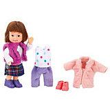 "Кукла Paula ""Зимний гардероб: брюнетка"""