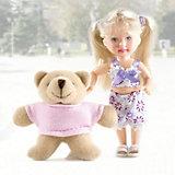 """Игровой набор Paula """"С любимой игрушкой: медвежонок"""""""