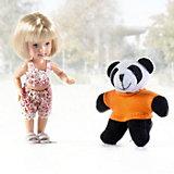 """Игровой набор Paula """"С любимой игрушкой: панда"""""""