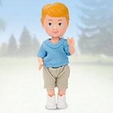 """Кукла Paula """"Мой друг"""", голубая футболка, бежевые шорты"""
