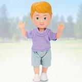 """Кукла Paula """"Мой друг"""", фиолетовая футболка, голубые шорты"""