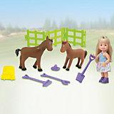 """Игровой набор Paula """"В деревне: с лошадьми"""""""