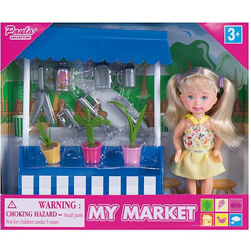 """Игровой набор Paula """"На рынке: ларек с растениями"""" от Paula"""