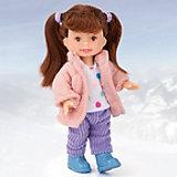 """Кукла Paula """"Зимний наряд: розовая куртка"""""""