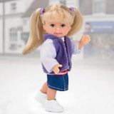 """Кукла Paula """"Зимний наряд: сиреневая куртка"""""""