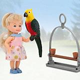 """Игровой набор Paula """"С питомцем: попугай"""""""