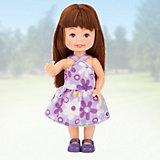 "Кукла Paula ""Летний наряд: брюнетка в фиолетовом"""