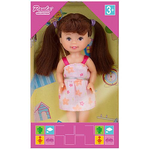 "Кукла Paula ""Летний наряд: брюнетка в цветном"" от Paula"